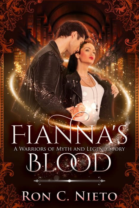 Fianna's Blood Website Cover
